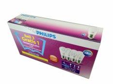 Toko Philips Led Bulb 4W Unicef Beli 3 Gratis 1 Putih Online Terpercaya