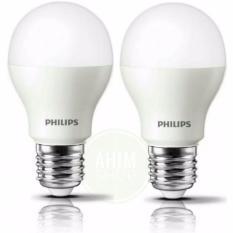 Obral Philips Led Bulb 8W Pengganti 9W A60 E27 806 Lumen Cool Daylight 2Pcs Murah
