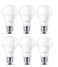 Review Toko Philips Led Bulb 9W A60 Putih 6 Buah Online
