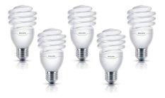 Philips Tornado 15 Watt Lampu Hemat Energi 5 Pcs - Putih