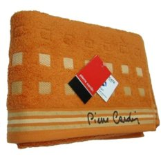 Harga Pierre Cardin Handuk Mandi Pc8015M0 Orange Asli Pierre Cardin