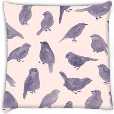 Pigeon Cat Secara Digital Dicetak Cushion Cover Pillow 8X8 Inch-Intl