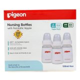 Jual Beli Pigeon Botol Susu Bayi Triple Pack Pp Kp 120Ml With S N*ppl* Size S Baru Indonesia