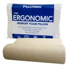 Jual Pillopedic Ergonomic Medium Memory Foam Pillow Lengkap