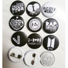 pin KPOP BTS Bangtan Boys Badge Brooch Chest Pin Souvenir Gift jungkook 2,5mm isi 7pcs