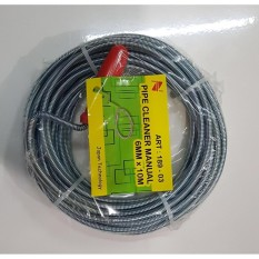 Pipe Cleaner 10 M Alat Pembersih Pipa Tersumbat MANUAL NANKAI sellery