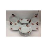 Review Toko Piring Makan 8 Rose Keramik Lusin