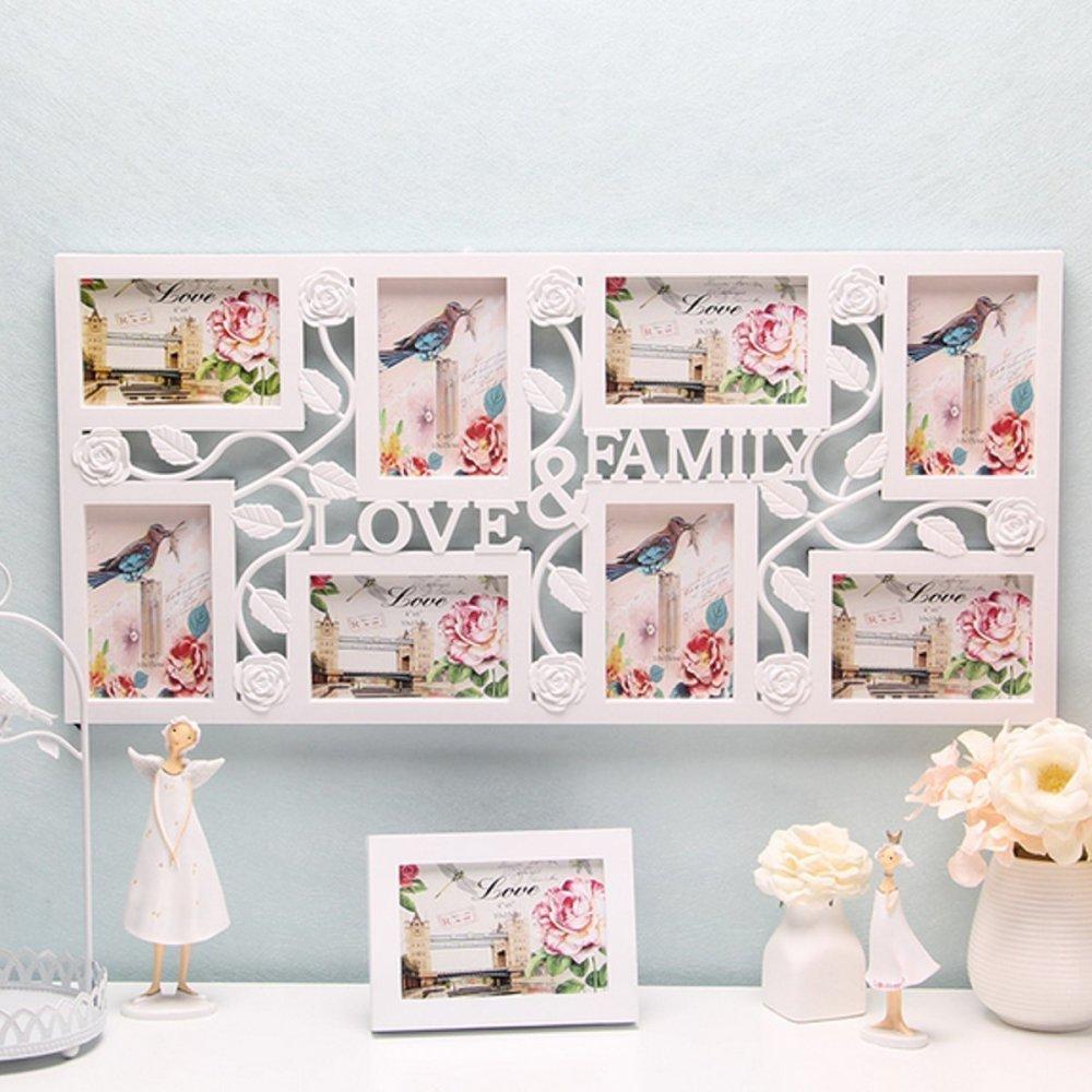 Beli sekarang Plastik Kolase Gantung Bingkai Foto Keluarga Cinta Gambar Tampilan Dekorasi Rumah Dinding terbaik murah