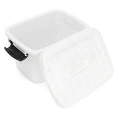 Promo Plastik Kantor Penyimpanan Wadah Kotak Kerajinan Kotak Makeup Case House Desktop Putih Intl Oem Terbaru
