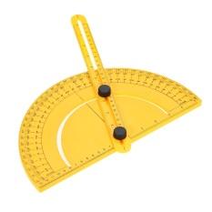 Ongkos Kirim Plastik Protractor Angle Finder Ruler Goniometer Untuk Tukang Pembangun Pengrajin 180 Derajat 25 Cm Aturan Gauge Inch Metric Intl Di Tiongkok