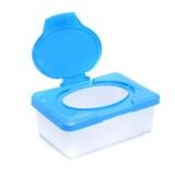 Toko Plastik Basah Tissue Paper Case Baby Wipes Penyimpanan Kotak Tempat Pulpen Peralatan Rumah Tangga Biru Intl Murah Tiongkok