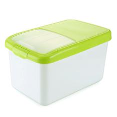 Kotak Beras Geser Lemari Dapur Peralatan Plastik Kendi Beras