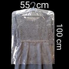 Beli Plastik Pelindung Baju 100Cm X 55Cm Secara Angsuran