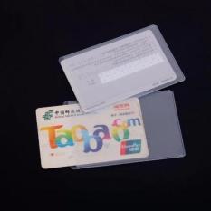 Review Plastik Pelindung Kartu Kredit Atm Ktp Sim 10 Pcs Bening Alakazam