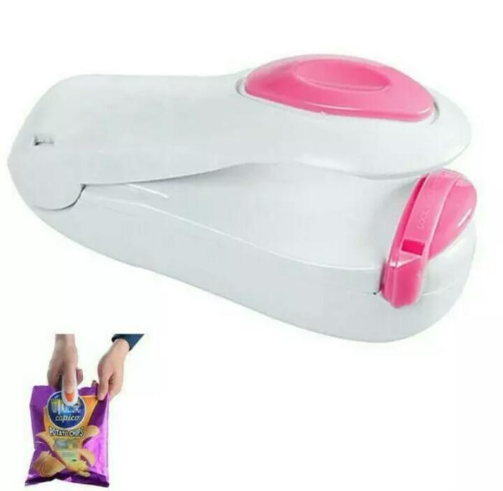 Penjualan SELALU ADA - Plastik Sealer Mini Generasi Gen2 Seal Snack Makanan Kecil Hand Segel terbaik murah - Hanya Rp11.525