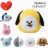 Beli Plush Pillow Doll Cushion Toy For Kpop Bts Bt21 Tata Shooky Rj Suga Cooky Jimin Chimmy Intl Nyicil