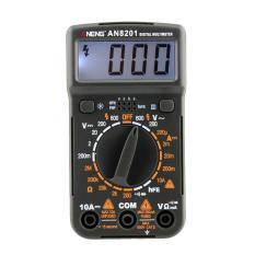 Pocket Mini Digital Multimeter Backlight AC/DC Ammeter Voltmeter Ohm Tester-Intl