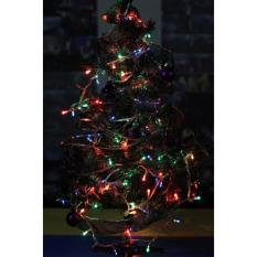 Pohon Natal beserta dengan Hiasan (1 Set) - Tinggi 45 Cm