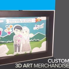 Harga Pop Art 3D Custom Chibi Merchandise Fullset Murah