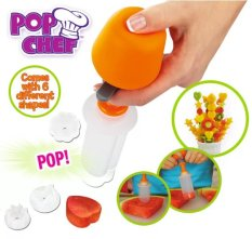 Pop Chef Fruit Decorator 6 Shape Maker By Serba Makmur.