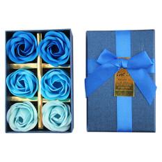 Harga Kreatif Populer Mawar Sabun Bunga Dan Beruang Kotak Kado Bunga Bunga Artifisial Dekorasi Pernikahan Sabun Biru Gradien Oem Ori