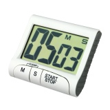 Beli Portable Digital Countdown Timer Clock Besar Layar Lcd Alarm Untuk Dapur Cook Intl Yang Bagus
