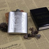 Promo Portable Hip Flask Whiskey Wine Pot Botol Hadiah Emboss Stainless Steel Intl Murah