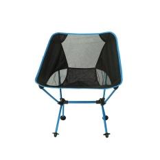 Portable Ultralight Folding Kursi dengan Tas Penyimpanan Aluminium Alloy Oxford Kursi-Intl