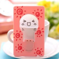 Harga Portable Unplugged Card Lamp Night Light Lampu Kartu Pink Online