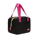 Jual Portable Tahan Air Ketebalan Insulated Piknik Sekolah Lunch Bag Hitam Hong Kong Sar Tiongkok Murah