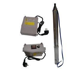 MAXPUMP Mesin Pompa Air Satelit 0.3hp / 230watt Submersible Water Pump - Silver