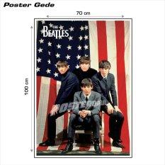 Poster gede: The Beatles Tour U.S.A. #20B - 70 x 100 cm