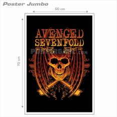 Poster Jumbo AVENGED SEVENFOLD #A7X43 - 50 x 70 cm