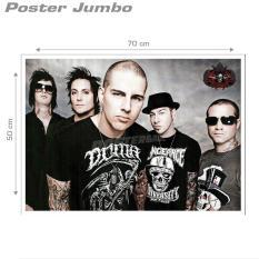 Poster Jumbo AVENGED SEVENFOLD #A7X45 - 50 x 70 cm