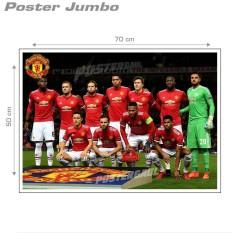 Poster Jumbo: FC MANCESTER UNITED - STARTER 2017/18 #FCL52 - 50 x