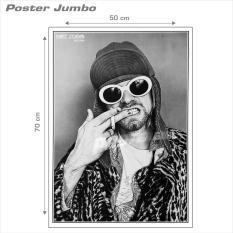 Poster Jumbo: Kurt Cobain #RJ27 -  50 x 70 cm