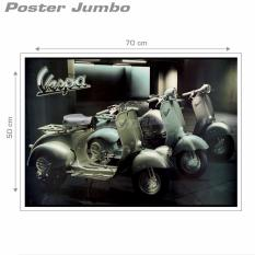 Poster Jumbo: Vespa Classic #MMM03 - 50 X 70 cm
