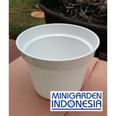 Pot Bunga 17 cm Pot Semai Bonsai Bibit Bisa Hidroponik Pilih Warna