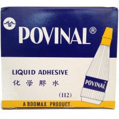 Harga Povinal Liquid Adhesive 112 Medium 1Dz 12 Pcs X 75 Ml Termurah