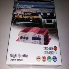 Power Ampli Mobil RD100 Diskon