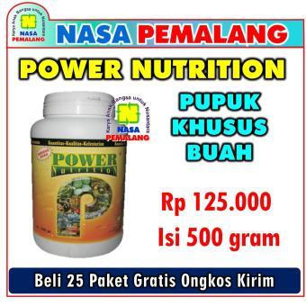 Power Nutrition Pupuk Organik Khusus Buah Kemasan 500 Gram Nasa Pemalang