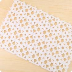 Praktis Berkualitas Tinggi Hot Menjual 30x20 Cm Nonslip Karpet Lantai Kamar Mandi Pijat Plastik Kamar Mandi Bath Rug Tub Mat- INTL