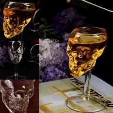 Praktis Berkualitas Tinggi Hot Sell Tulang Warrior Skull Dirancang Tinggi Gelas Anggur Goblet Cup Barware Drinkware Baru-Internasional
