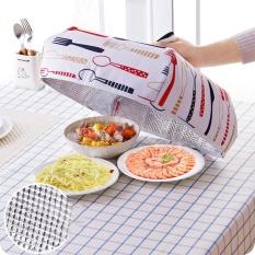 Praktis Berkualitas Tinggi Hot Jual Kitchen Lipat Makanan Terisolasi Cover Foil Penutup Meja Alat 2 Warna-Intl