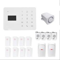 Praktis Keamanan GSM Nirkabel Rumah Burglar Alarm Sistem-Internasional