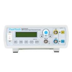 Spek Digital Yang Presisi Dual Channel Dds Fungsi Signal Generator Sine Square Bentuk Gelombang Frekuensi Meter Counter 6 Mhz