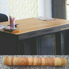 Beli Premium Quality Lux 10 26 Pra Luxurious Wallpaper Sticker Motif Kayu Coklat Murah Di Indonesia