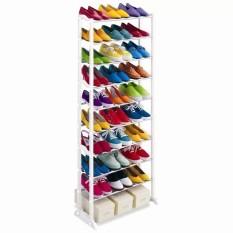 Prime Amazing Portable Shoe Rack Foldable 30 Pairs - Rak Sepatu 10 Tingkat