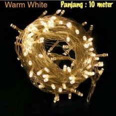 Lampu Tumblr Hias LED 10 Meter Warm White