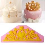 Toko Putri Mahkota Silikon Fondant Cetakan Kue Dekorasi Cokelat Cetakan Kue Dekorasi Intl Termurah Di Tiongkok